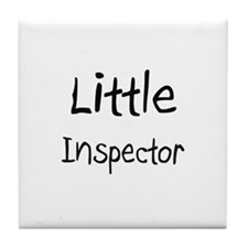 Little Inspector Tile Coaster