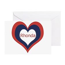 Rhonda - Greeting Card
