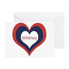 Whitney - Greeting Card