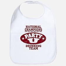 """Party U/National Champions"" Bib"