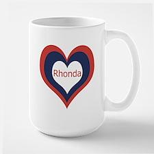 Rhonda - Large Mug
