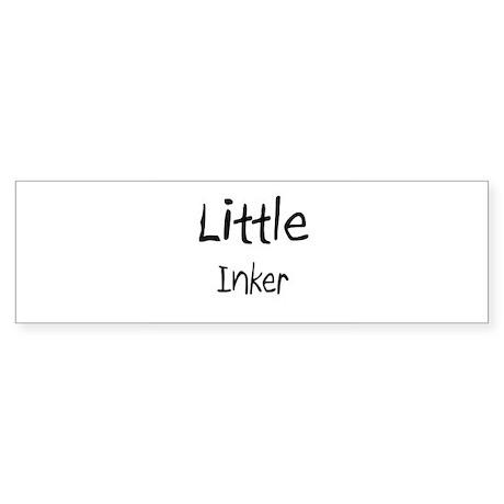 Little Inker Bumper Sticker