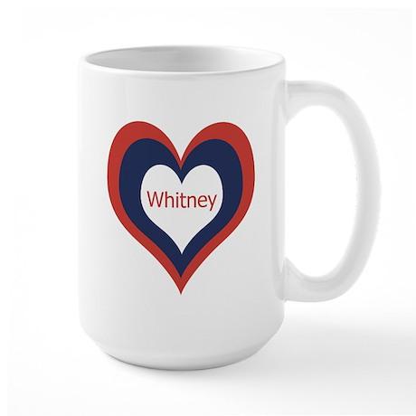 Whitney - Large Mug