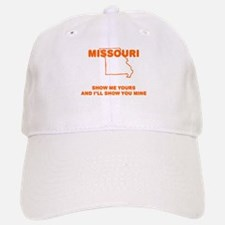 Missouri Show Me Baseball Baseball Cap