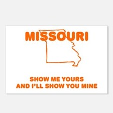 Missouri Show Me Postcards (Package of 8)