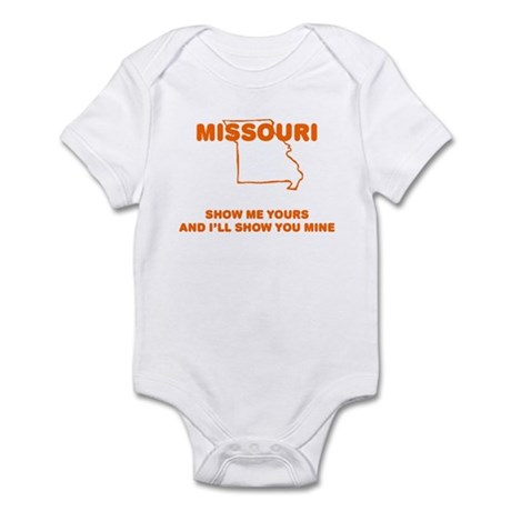 Missouri Show Me Infant Bodysuit
