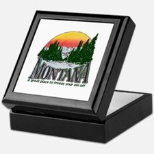 Cold Montana Keepsake Box