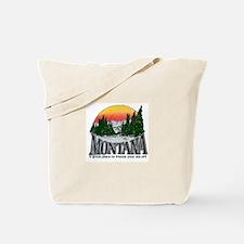 Cold Montana Tote Bag