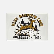 Blue Mountain Adirondacks Rectangle Magnet (10 pac