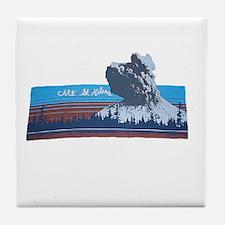 Mt. St Helens Tile Coaster