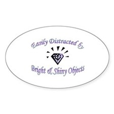 Bright & Shiny Oval Decal