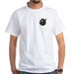 Mona Lisa Ninja PL White T-Shirt