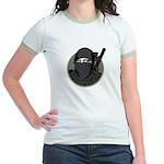 Mona Lisa Ninja PL Jr. Ringer T-Shirt