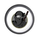 Mona Lisa Ninja PL Wall Clock