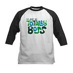 Totally Boss Kids Baseball Jersey