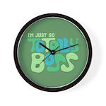 Totally Boss Wall Clock