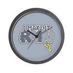 I Make It Rain Wall Clock