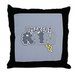 I Make It Rain Throw Pillow