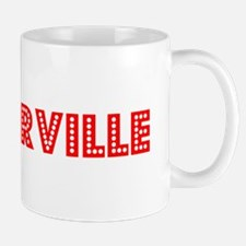 Retro Victorville (Red) Mug