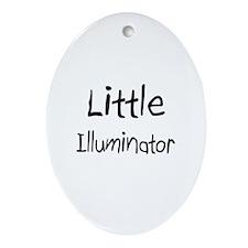 Little Illuminator Oval Ornament