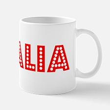 Retro Visalia (Red) Mug