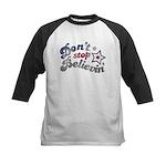 Don't Stop Believin' Kids Baseball Jersey