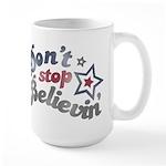 Don't Stop Believin' Large Mug