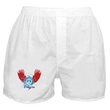 Oregon Peace Boxer Shorts