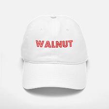Retro Walnut (Red) Baseball Baseball Cap