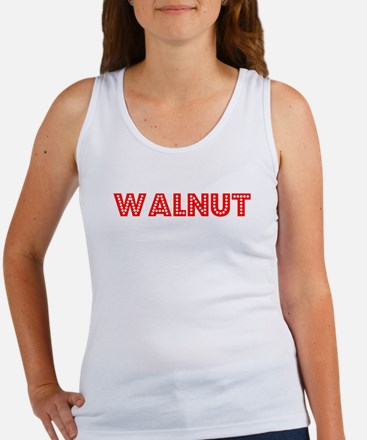 Retro Walnut (Red) Women's Tank Top