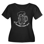 Beer: Now! Cheaper than Gas! Women's Plus Size Sco