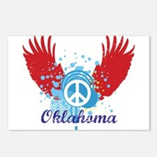Oklahoma Peace Postcards (Package of 8)