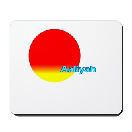 Aaliyah Mousepad