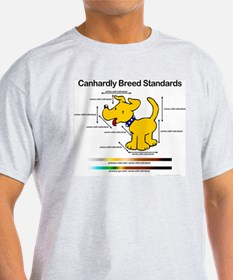 Breed standards (dog) Ash Grey T-Shirt