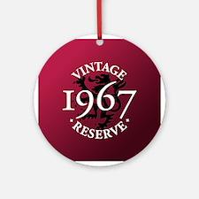 Vintage Reserve 1967 Ornament (Round)