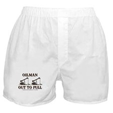 Oilman Out To Pull Boxer Shorts