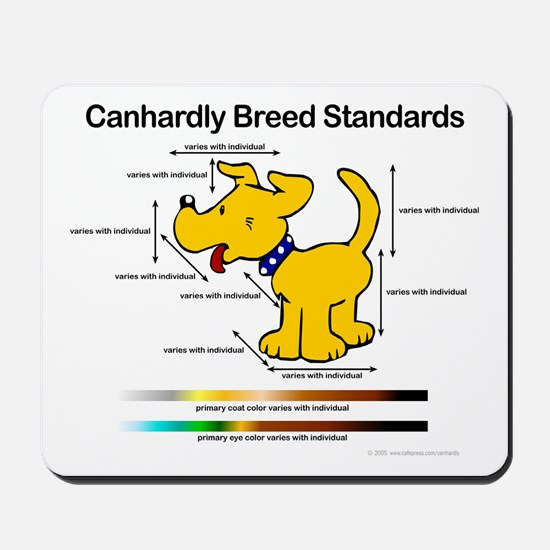 Breed Standard (dog) Mousepad