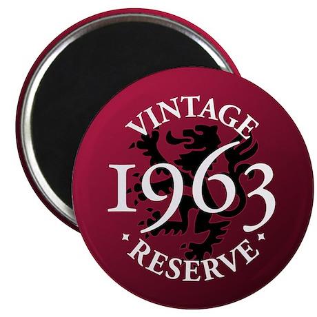 """Vintage Reserve 1963 2.25"""" Magnet (100 pack)"""