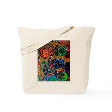 Color Wheels Tote Bag