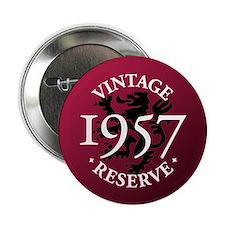 """Vintage Reserve 1957 2.25"""" Button"""