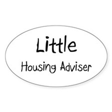 Little Housing Adviser Oval Decal