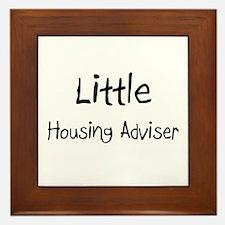 Little Housing Adviser Framed Tile