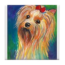 Yorkshire terrier #2  Tile Coaster