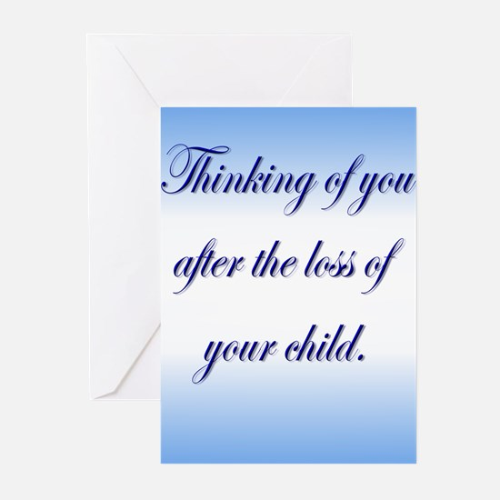 Pregnancy & Infant Loss Greeting Cards (Package of