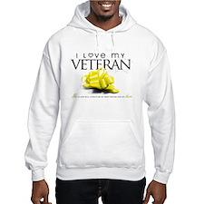 I Love My Veteran Hoodie