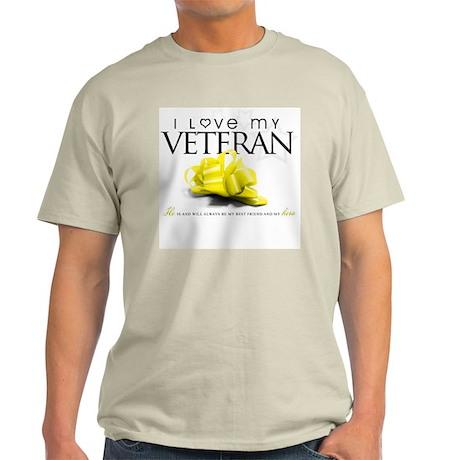 I Love My Veteran Light T-Shirt