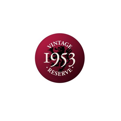 Vintage Reserve 1953 Mini Button (10 pack)