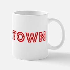 Retro Watertown (Red) Mug