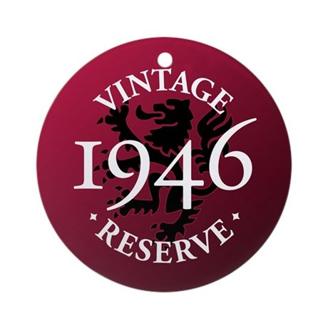 Vintage Reserve 1946 Ornament (Round)
