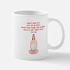 meditation joke Mug